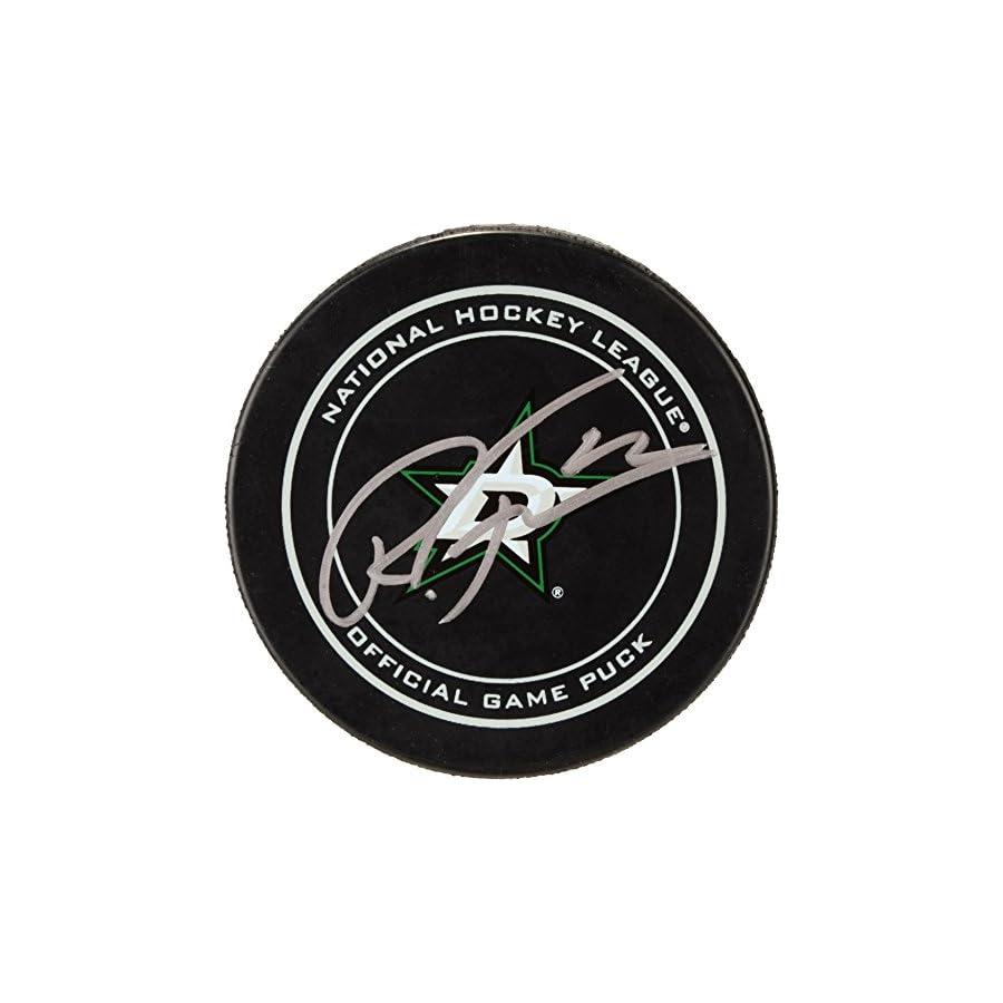 Radek Faksa Dallas Stars Autographed Official Game Puck Fanatics Authentic Certified Autographed NHL Pucks