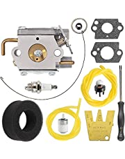 ZAMDOE WT-827 TB90BC 753-05133 Carburateur voor MTD Troy-Bilt TB10CS TB20CS TB20DC TB310QS TB320BV TB65SS TB70FH TB70SS TB90BC MS2550SE WH80BC WH25CS Gas Trimmer, met luchtfilter