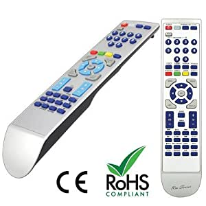 Replacement Remote Control for ALBA LED16911DVD by RM-Series