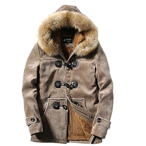 Mens Puffer Jacket Packable. Mens Winter Deer Velvet Skin Blouse Thickening Coat Outwear Top Blouse ()