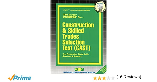 Construction skilled trades selection test castpassbooks jack construction skilled trades selection test castpassbooks jack rudman 9780837338750 amazon books fandeluxe Image collections