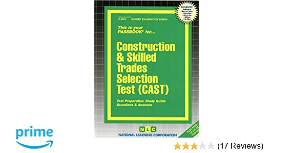 Construction skilled trades selection test castpassbooks jack construction skilled trades selection test castpassbooks jack rudman 9780837338750 amazon books fandeluxe Choice Image