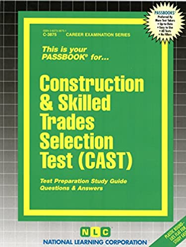 construction skilled trades selection test cast passbooks jack rh amazon com Power Lineman Tools Power Lineman On Pole Silhouette