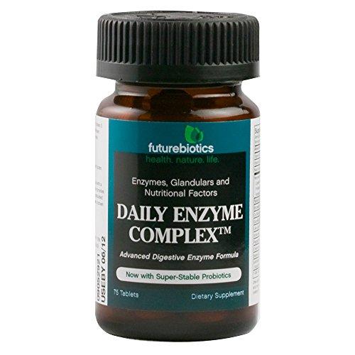 Futurebiotics Daily Enzyme Complex, 75 Tablets