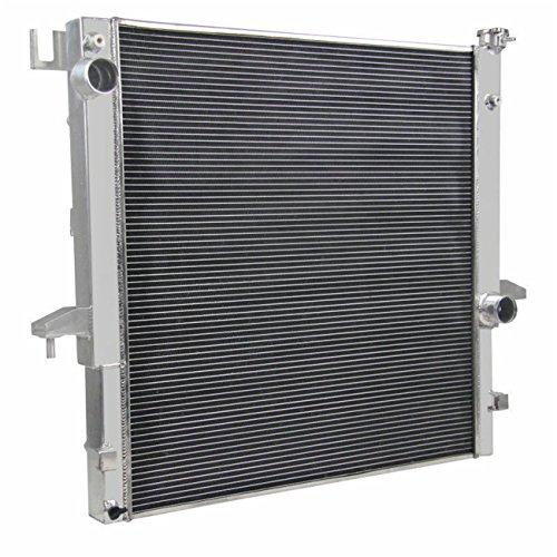 Coolingzone 3 Row Core Aluminum Radiator for 2003-2009 Dodge Ram 2500 3500, 5.9L 6.7L Diesel OHV - Aluminum Neck Filler Stamped