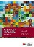 Family Law in Australia, 9th edition