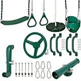 Swing Set Stuff Inc. Ultimate Toddler Kit with Sss Logo Sticker Playground Accessories, Green