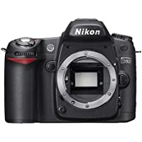 Nikon D80 (Body only) 10.2MP Digital SLR Camera Japan Imports [International Version, No Warranty]