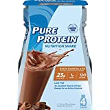Pure Protein Reformulated Shake, Rich Chocolate, 11 Ounce each, 4 count