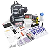 Emergency Zone Urban Survival 72-Hour Bug Out/Go Bag | Perfect Way to Prepare Your Family | Be Ready for Disasters Like Hurricanes, Earthquake, Wildfire, Floods, Tornadoes | Now Includes Bonus Item!