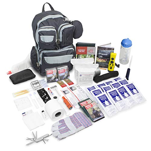 - Emergency Zone 840-2 Urban Survival Bug Out Bag Emergency 72 Hour Disaster Kit, 2 Person, Black