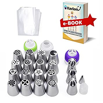Amazon Com Russian Piping Tips For Flower Frosting Decorating