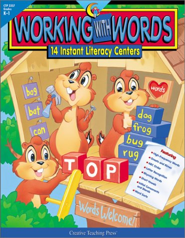 Working With Words: 14 Instant Literacy Centers : Grades K-1 (Instant Literacy Center)