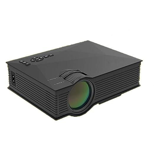 Dapang Proyector Proyector de Video Proyector portátil de ...