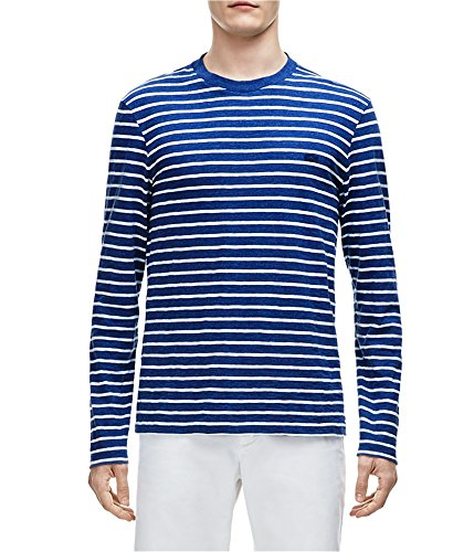 Buy lacoste mens striped long sleeve basic t-shirt