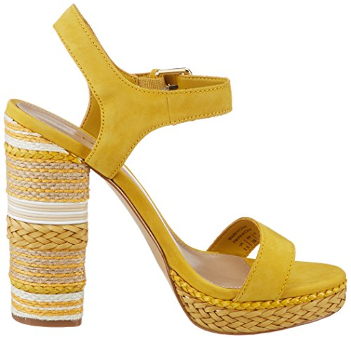 Bride Aldo golden 2 Femme Cheville Huglag Jaune Sandales Yellow AAw8qEYv