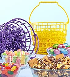 Set of 2 Easter Bunny Treat Totes