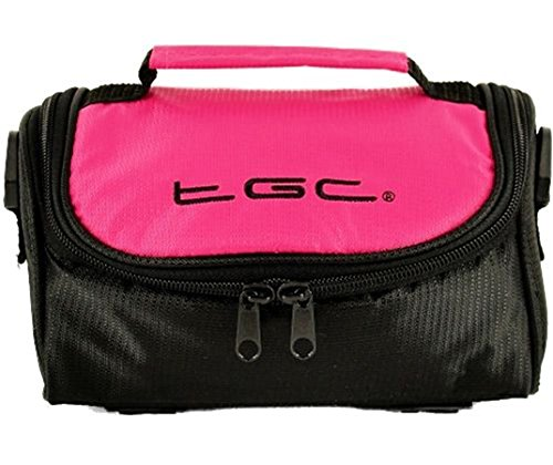 Jet Hot Pink Black Negro al Black para Bolso Trims Pink Hombro with Mujer TGC Hot amp; fcwYABzqv