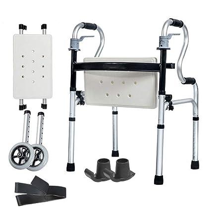 SXD Walk Andador Mayor Bastidor Plegable De Aluminio, Ayuda ...