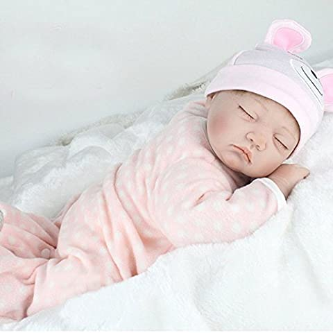 22inch Reborn Baby Doll Silicone Handmade Lifelike Dolls Play House Toy (How Do I Get More Storage On M)