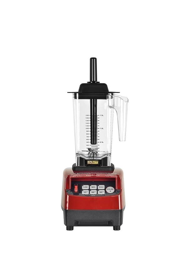 JTC Omniblend licuadora batidora 1,5 L rojo cereza 2238 W: Amazon ...