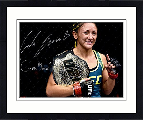 Framed Carla Esparza Ultimate Fighting Championship Autographed 16