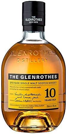 The Glenrothes 10 Años Single Malt Whisky Escoces, 40% - 700 ml