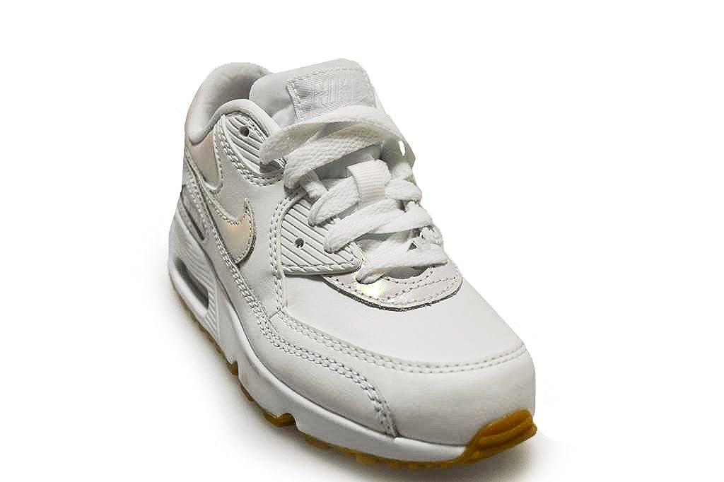 Nike Kids Air Max 90 LTR SE GP White Prism Pink 897986