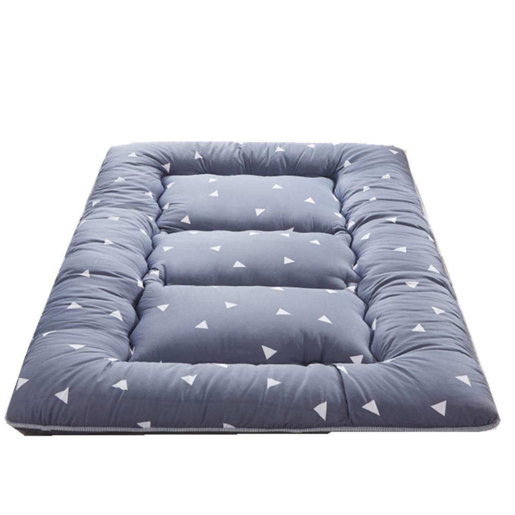 A 120x200cm(47x79inch) Futon Japanese Floor Tatami Mattress, Foldable Sleeping Mattress Topper Mat Pad Cushion mats for Yoga Meditaion Bay Window-A 120x200cm(47x79inch)