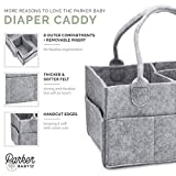 Parker Baby Diaper Caddy - Nursery Storage Bin