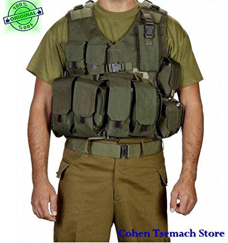 Hagor oficial SWAT chaleco táctico militar Cordura Combat Arnés IDF israelí