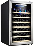 Kitchen & Housewares : Kalamera 50 Bottle Compressor Wine Refrigerator Single Zone with Touch Control