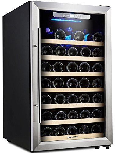 kalamera 50 bottle compressor wine single zone with touch control - Best Counter Depth