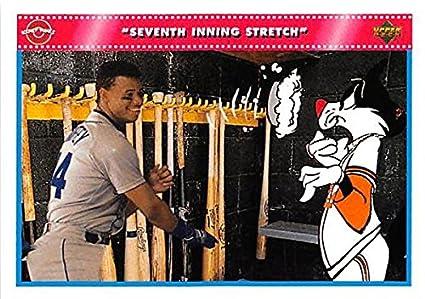 Ken Griffey Jr Baseball Card Seattle Mariners Hall Of Famer