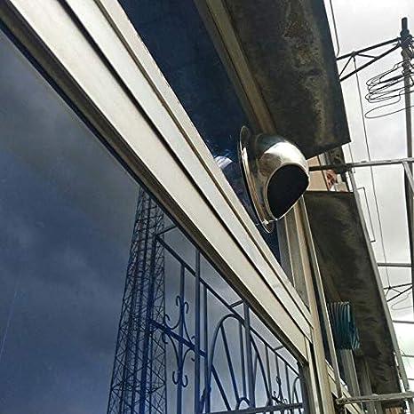 Volwco 304 Bouchon de sortie de sortie dair ext/érieur rond en acier inoxydable avec filet anti-insectes pour emp/êcher les insectes et la souris de p/én/étrer
