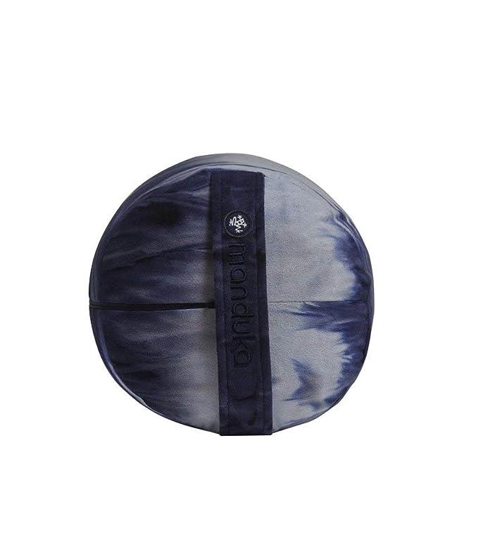 Manduka (mndk9 bolsters-Round-Midnight HD Yoga Bolster ...