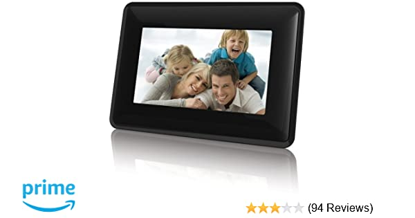 amazon com coby widescreen digital photo frame with photo rh amazon com Coby DVD Player Electronics Coby Electronics D233