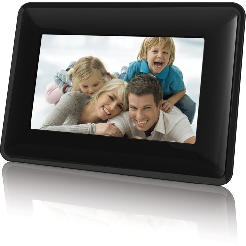 Coby Widescreen Digital Photo Frame with Photo Slideshow Mod