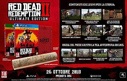 Red Dead Redemption II - Ultimate Edition: Amazon.es: Videojuegos