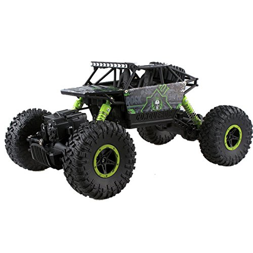RC Car, TOPQSC RC Car - Electric Fast 4WD High Speed 1:18 Size RC Car Rock Crawler Hobby Car with 2.4 GHz Control System