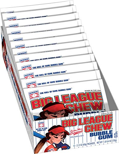 Big League Chew Female Softball Bulk Case 12 Packs Per Tray (4 Trays Total = 48 Packs) by Big League Chew (Image #2)