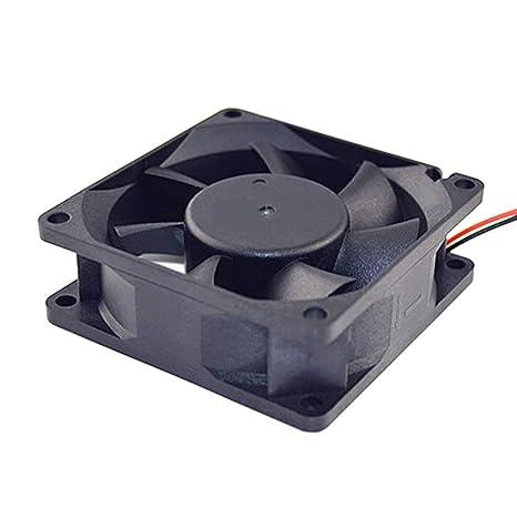 uu19ee Ordenador portátil Ventilador silencioso 50/80 / 120mm PC CPU Sistema Disipador de Calor
