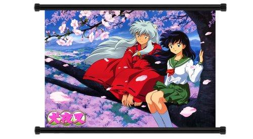 Inuyasha Anime Fabric Wall Scroll Poster