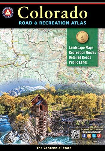 Colorado Road & Recreation Atlas (Benchmark Atlas)