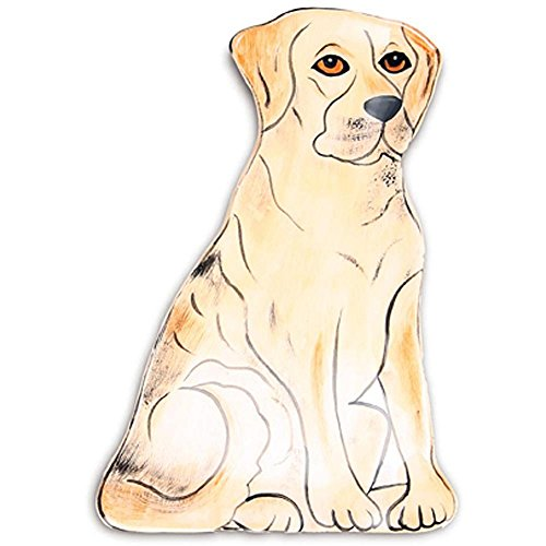 Rescue Me Now Yellow Labrador Spoon Rest, 6-3/4-Inch