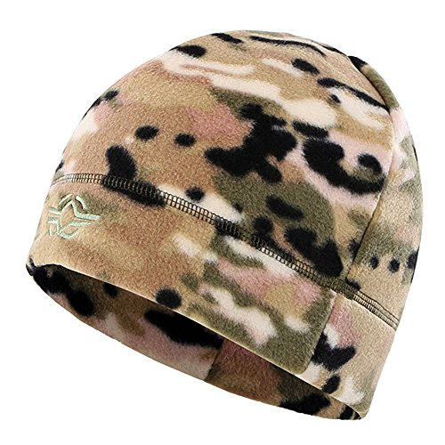 (LytHarvest Winter Hat Windproof Fleece Mens Military Watch Skull Cap Tactical Beanie (CP Multicam))
