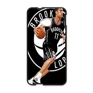 Brooklyn Nets NBA Black Phone Case for HTC One M7