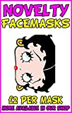 Betty Boop Novelty Celebrity Face Mask Party Mask Stag Mask