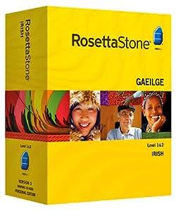 Rosetta Stone Irish Level 1 & 2 set with Audio Companion