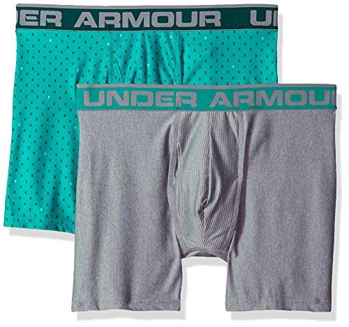 折り目産地事実上アンダーアーマー Under Armour プリントボクサーパンツ 6インチ メンズ オリジナルシリーズ 2枚セット